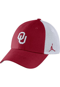 Oklahoma Sooners Nike Jordan H86 Trucker Adjustable Hat - Crimson