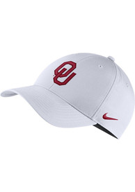 Oklahoma Sooners Nike Dry L91 Adjustable Hat - White