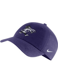 K-State Wildcats Nike Willie Heritage 86 Logo Adjustable Hat - Purple