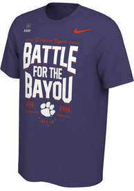 Clemson Tigers Nike 2019 College Football Playoff Bound T Shirt - Purple