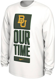 Baylor Bears Nike Bench Legend T-Shirt - White