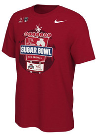 Ohio State Buckeyes Nike 2020 College Football Playoff Bound T Shirt - Red
