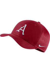 Arkansas Razorbacks Nike Aero C99 Mesh Swoosh Flex Hat - Red
