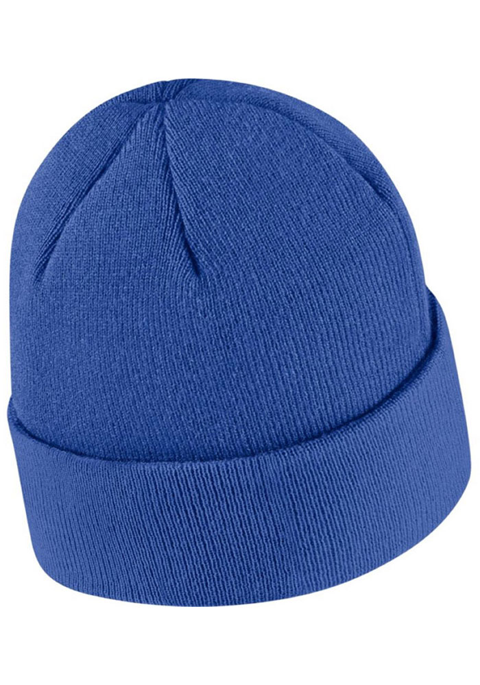 Nike Kentucky Wildcats Blue Patch Cuffed Mens Knit Hat - Image 2