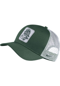 Michigan State Spartans Nike C99 Trucker Adjustable Hat - Green