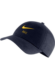 Michigan Wolverines Nike H86 Swoosh Adjustable Hat - Navy Blue