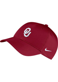Oklahoma Sooners Nike Dri-Fit L91 Adjustable Hat - Crimson