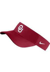 Oklahoma Sooners Nike Dri-Fit Adjustable Visor - Crimson