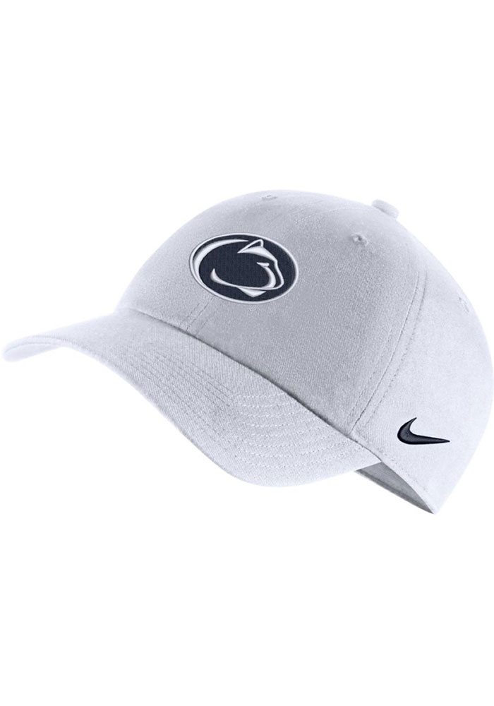 Nike Penn State Nittany Lions H86 Logo Adjustable Hat - White - Image 1