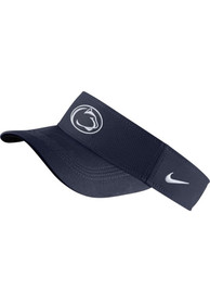 Penn State Nittany Lions Nike Dri-Fit Adjustable Visor - Navy Blue