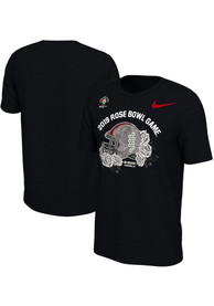 Ohio State Buckeyes Nike 2018 Rose Bowl Bound T Shirt - Black