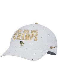 Baylor Bears Nike 2021 National Champions L91 Adjustable Hat - White