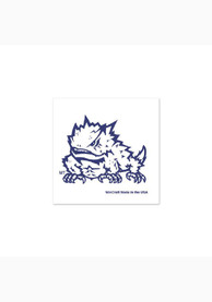 TCU Horned Frogs 4 Pack Tattoo