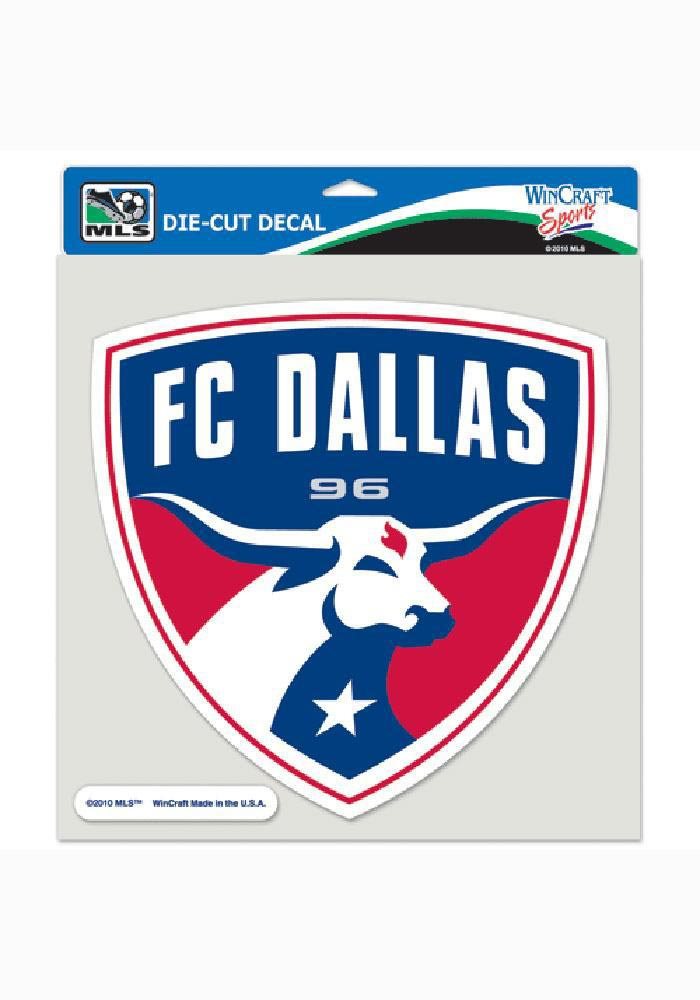 FC Dallas 8x8 Full Color Decal - Image 1