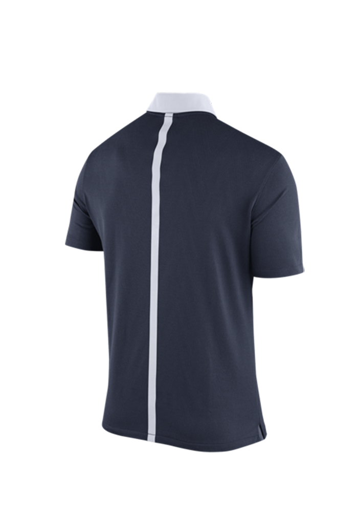 Nike Penn State Nittany Lions Mens Navy Blue 2015 Coaches Polo Short Sleeve Polo - Image 3