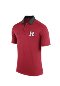 Rutgers Scarlet Knights Nike 2015 Coaches Polo Polo Shirt - Red