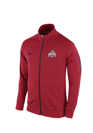 Nike Ohio State Buckeyes Mens Red 2015 Empower Track Jacket