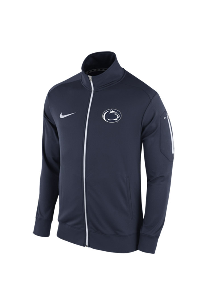 Nike Penn State Nittany Lions Mens Navy Blue 2015 Empower Track Jacket - Image 1