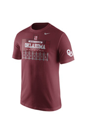 Nike Oklahoma Mens Red Campus Elements Tee