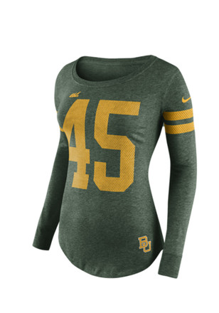 Nike Baylor Bears Womens Stadium Game Day Scoop Neck Tee