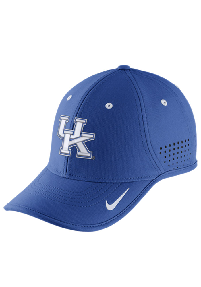 Nike Kentucky Wildcats Dri-Fit Coaches Adjustable Hat - Blue - Image 1