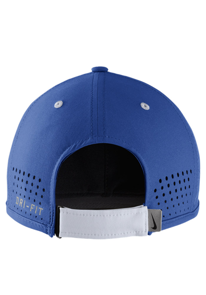 Nike Kentucky Wildcats Dri-Fit Coaches Adjustable Hat - Blue - Image 2