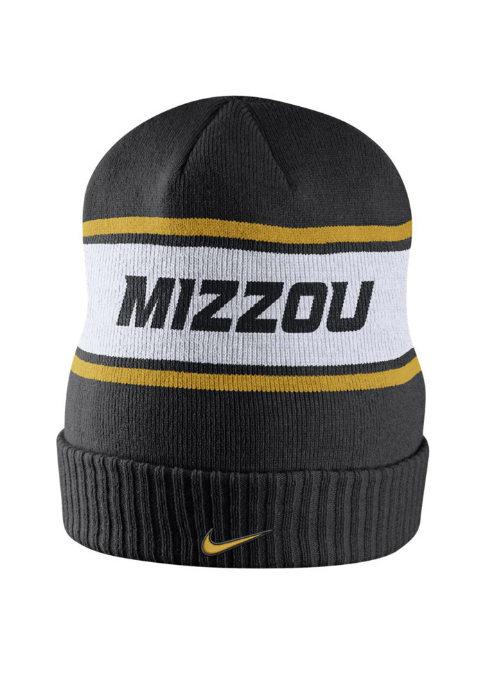 Nike Missouri Tigers Black DF Sideline Mens Knit Hat - Image 2