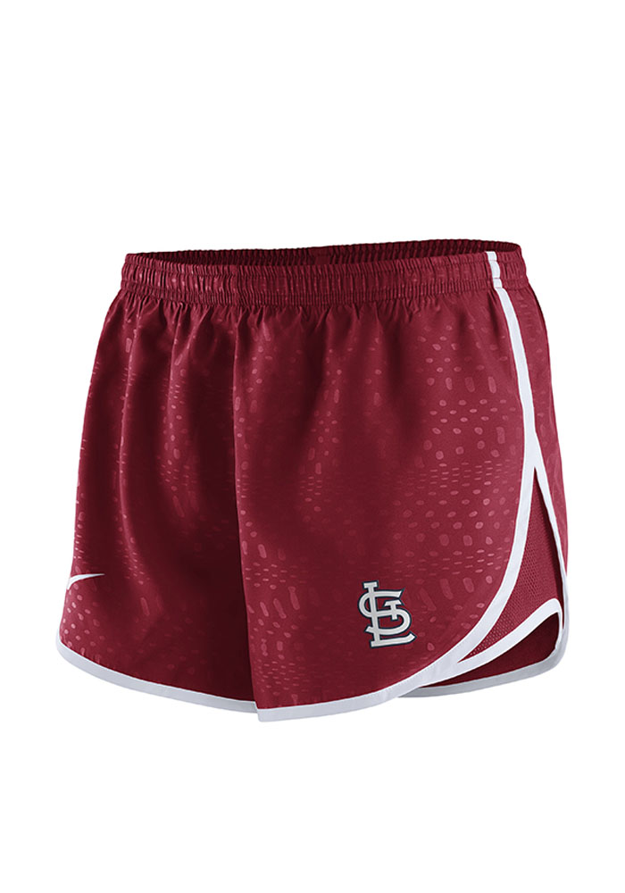 Nike St Louis Cardinals Womens Red Modern Tempo Shorts Shorts - Image 1