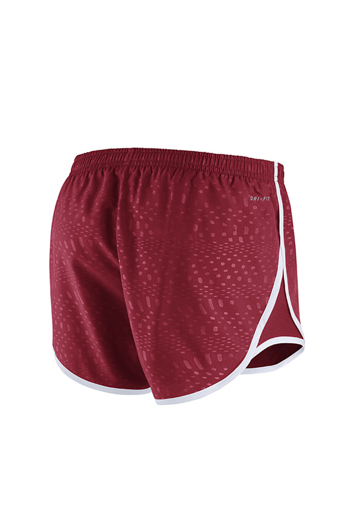 Nike St Louis Cardinals Womens Red Modern Tempo Shorts Shorts - Image 2