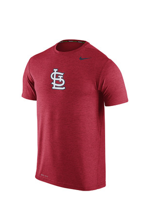 Nike St Louis Cardinals Mens Red Dri-FIT Touch Tee
