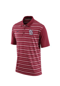 St Louis Cardinals Nike Dri-FIT Polo Shirt - Red