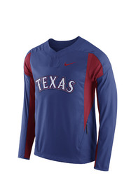 Nike Texas Mens Blue Pullover Jackets