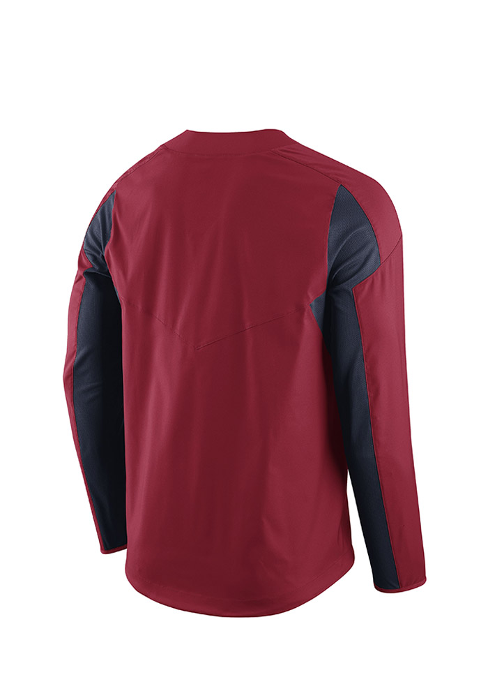 58070aaa2403 Nike St Louis Cardinals Mens Red Windshirt Pullover Jackets - 12515494