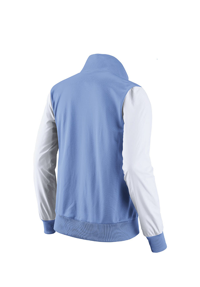 Nike Kansas City Royals Womens Light Blue Classic Track Long Sleeve Track Jacket - Image 2