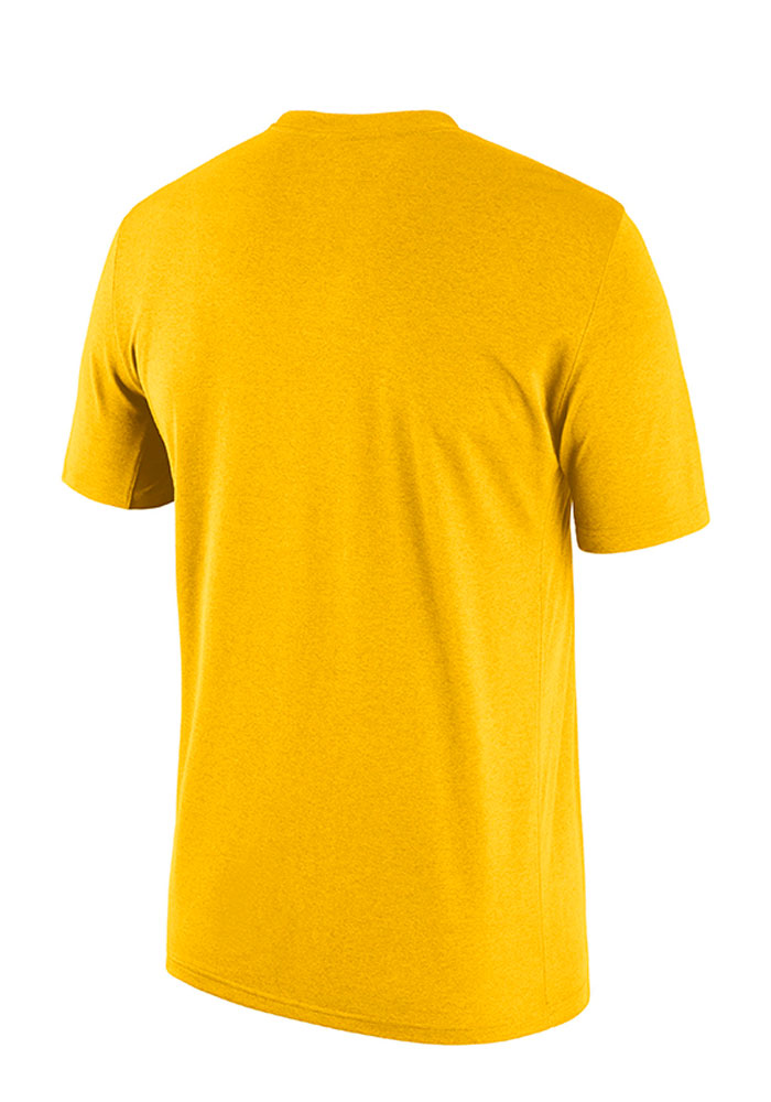 Nike Michigan Wolverines Gold Authentic Local Short Sleeve T Shirt - Image 2