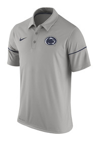 Penn State Nittany Lions Nike Team Issue Polo Shirt - Grey