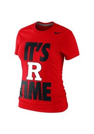 Nike Rutgers Scarlet Knights Juniors Local Red T-Shirt