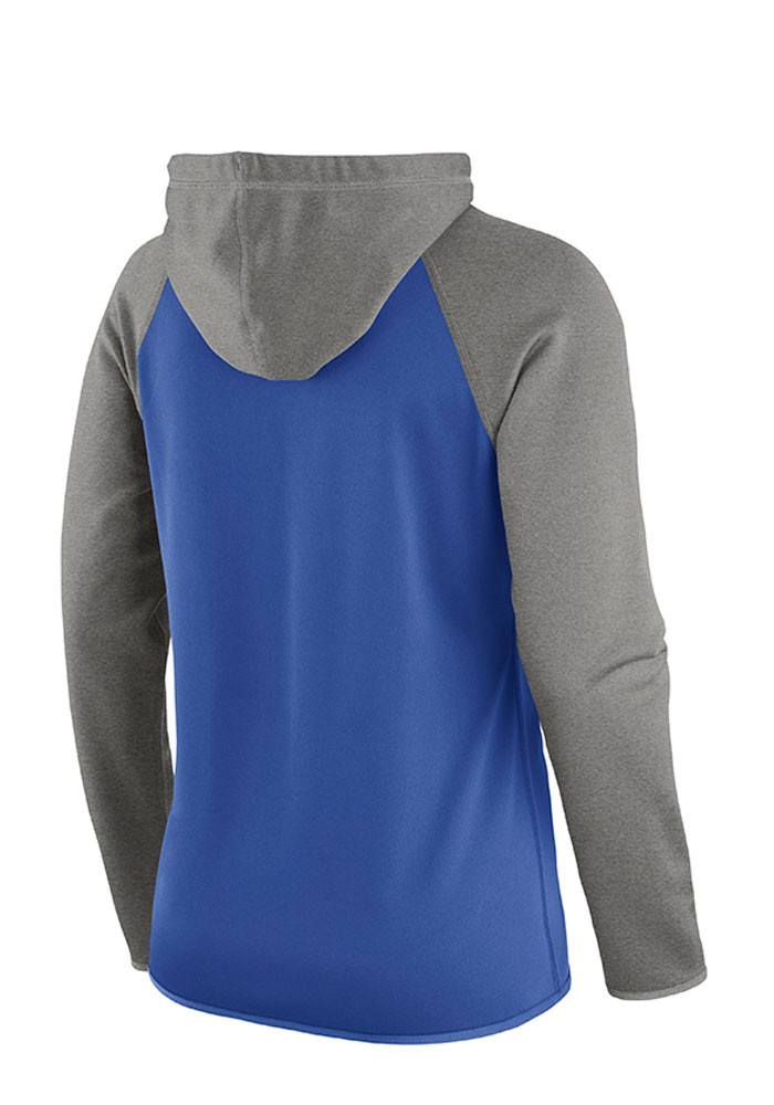 Nike Kentucky Wildcats Womens Blue Tailgate All Time Hooded Sweatshirt - Image 2