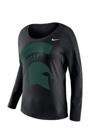 Nike Michigan State Spartans Womens Tailgate Scoop Neck Tee