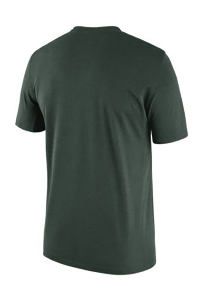 Nike Michigan State Spartans Mens Green Spartans Will Short Sleeve T Shirt - Image 2