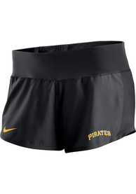 check out f5457 5179a Nike Pittsburgh Pirates Womens Black Dri-Fit Shorts