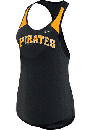 Nike Pittsburgh Pirates Womens Black Legend Wordmark Tank Top