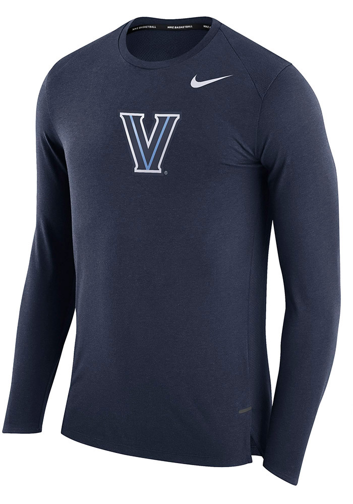 Nike Villanova Wildcats Navy Blue March Long Sleeve T-Shirt - Image 1
