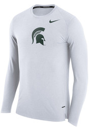Nike Michigan State Spartans White March Tee