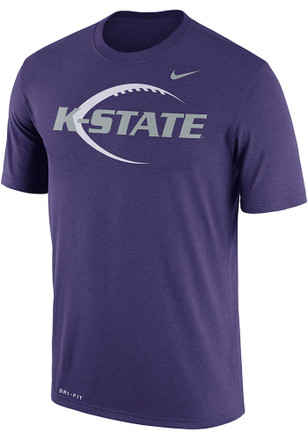 Nike K-State Wildcats Mens Purple Icon Legend Tee