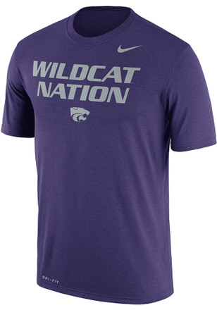 Nike K-State Wildcats Mens Purple Local Legend Tee