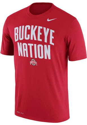 Nike Ohio State Buckeyes Mens Red Local Legend Tee