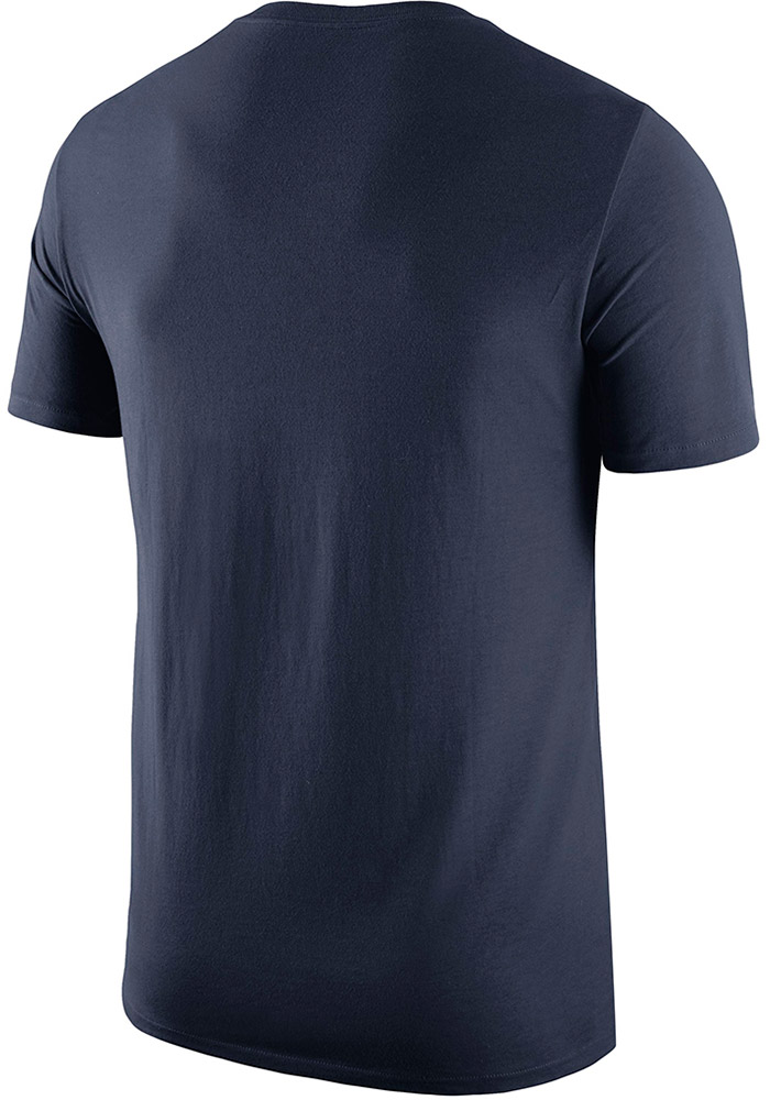Nike West Virginia Mountaineers Navy Blue Local Short Sleeve T Shirt - Image 2