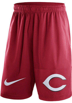 Nike Cincinnati Reds Mens Red Dry Fly Shorts