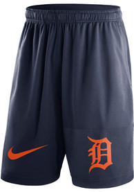 Detroit Tigers Nike Dry Fly Shorts - Navy Blue